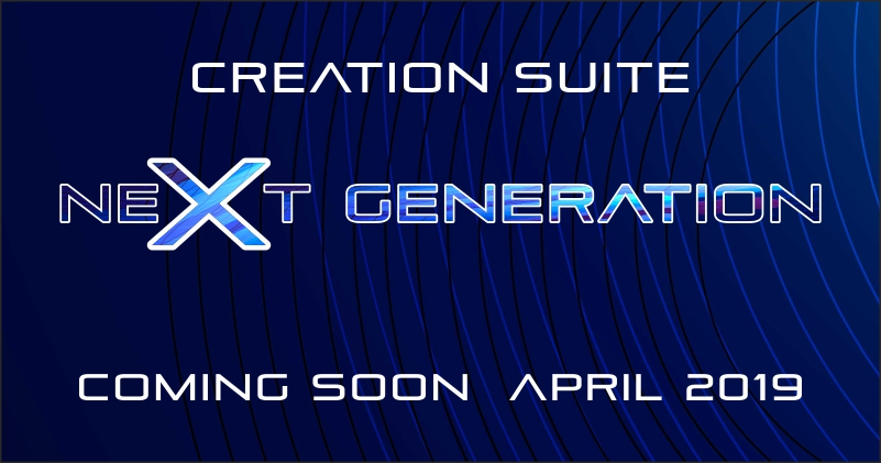 Next Generation Creation Suite